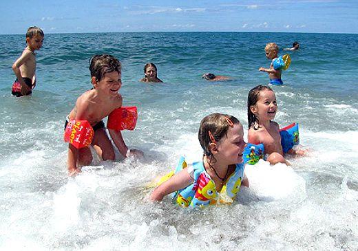 Температура воды в Чёрном море 24 июня