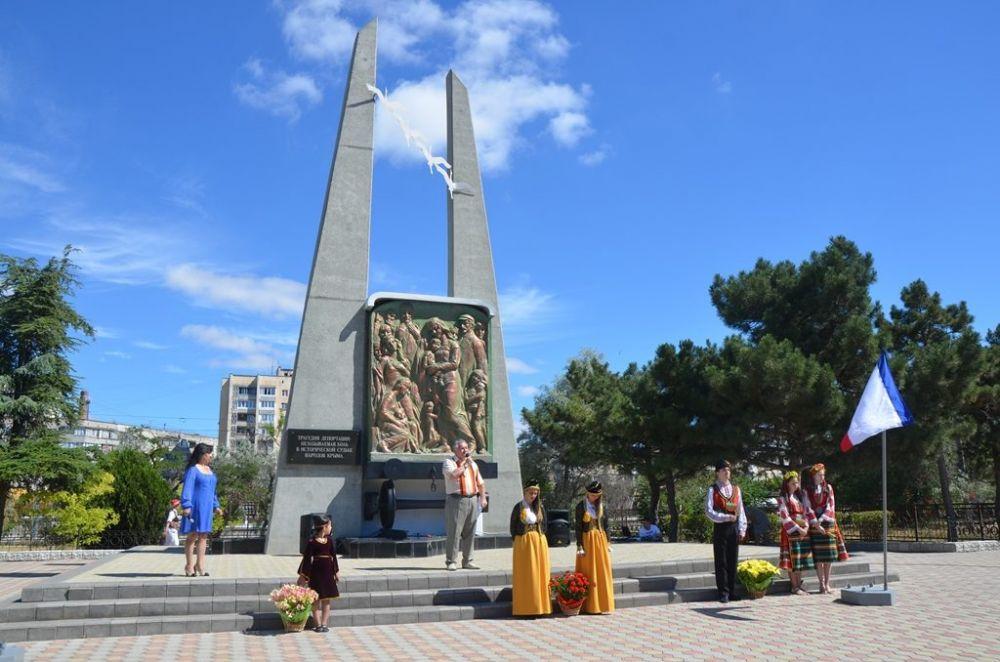 В память о жертвах депортации из Крыма