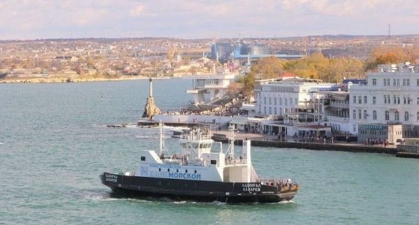 Санкции лишили Севастополь парома