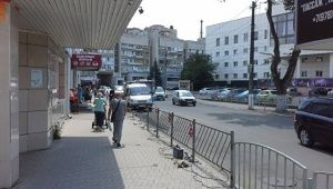 В Симферополе исчезла остановка возле «Ассорти»