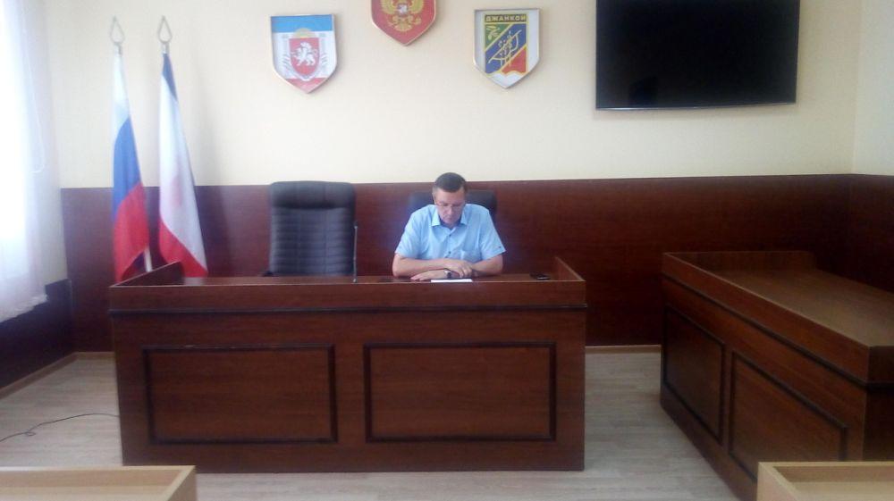 Глава администрации города Джанкоя провел очередное заседание антинаркотической комиссии