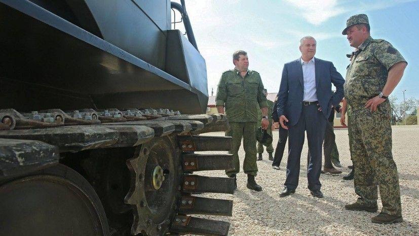 Аксёнов прокомментировал учения Украины возле границы с Крымом