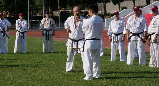 Летняя школа карате киокушинкай проводит занятия в Алуште