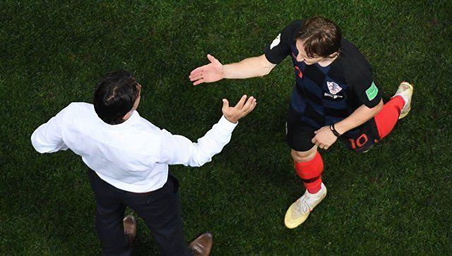 Хорватия вышла в финал ЧМ-2018