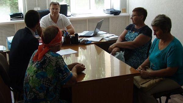 Первый заместитель главы администрации Джанкойского района Антон Кравец провел очередной приём граждан