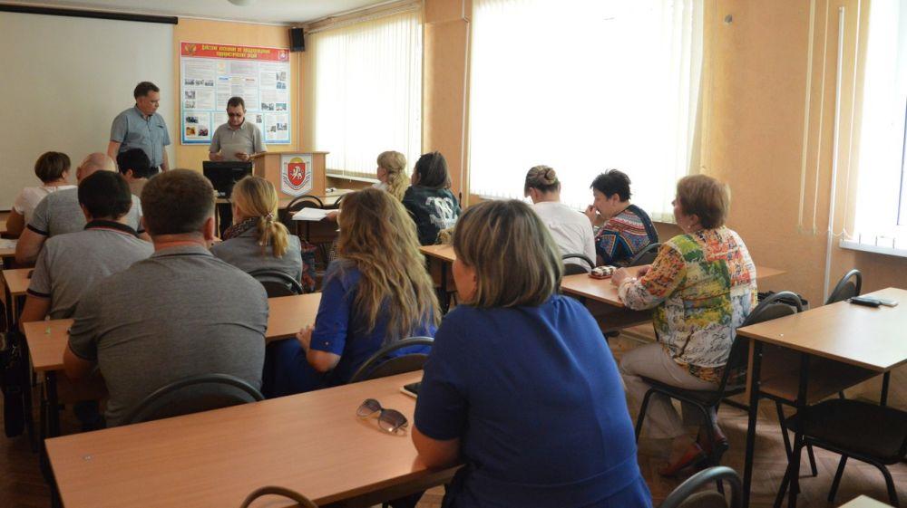 МЧС Республики Крым: качество обучения населения в области гражданской обороны и защиты от чрезвычайных ситуаций является наиболее важной задачей