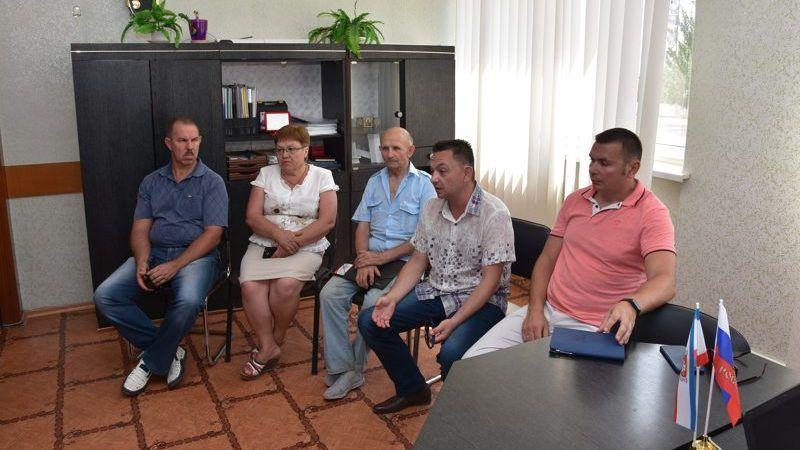 Рабочая группа общественного совета Красноперекопска провела встречу с представителями общественных организаций города