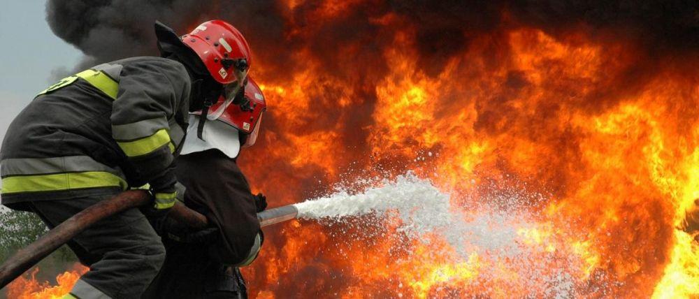На пожаре в многоэтажке под Симферополем спасли пенсионера