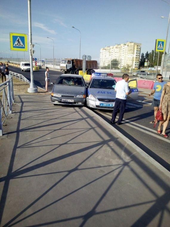ДПСники в Керчи устроили погоню за авто