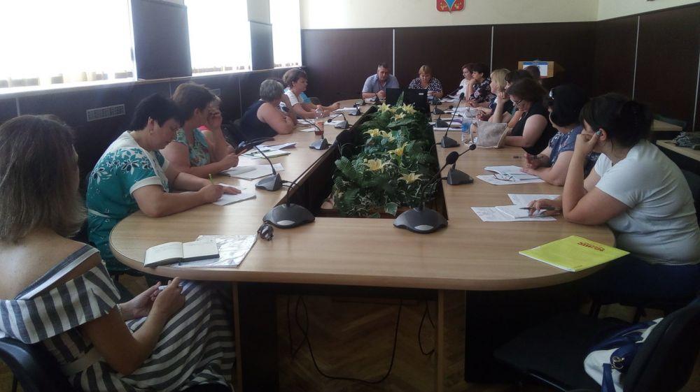 В Администрации Красногвардейского района проведено очередное совещание с сельскими поселениями