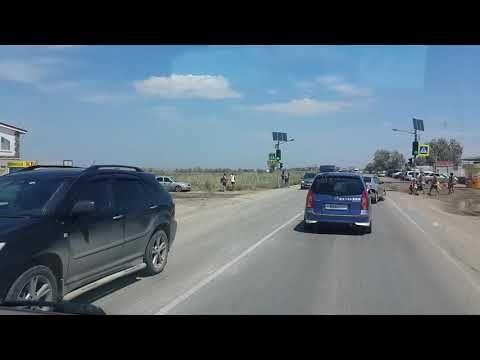 Водители грузовиков плюют на жару и приказы КрЫмля