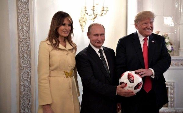 Первая леди США испугалась Путина до смерти?