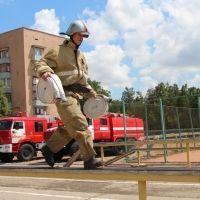 Крымские спасатели приняли участие в конкурсе «Лучший по профессии»