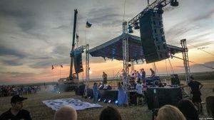 Крымчане не слышали концерта «Бумбокс» у границы