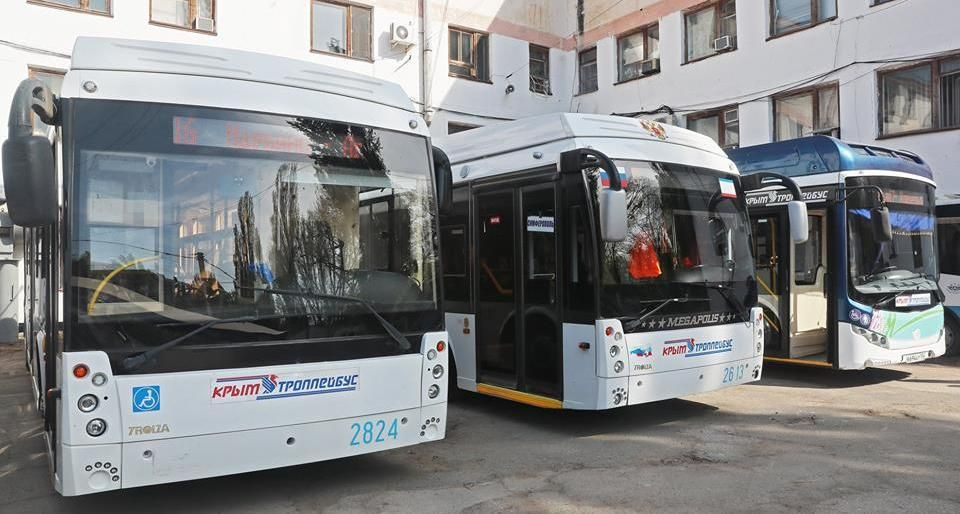 """Стоимость проезда в круглосуточном троллейбусе до аэропорта """"Симферополь"""" понизили"""