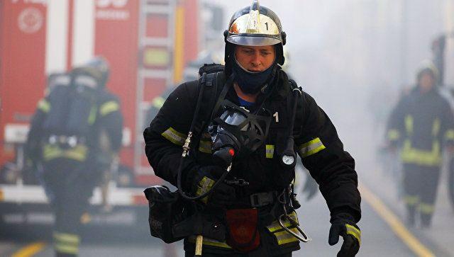 В Ялте на пожаре в жилом доме спасли пенсионерку
