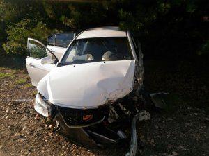 ДТП на трассе «Ялта – Севастополь»: водитель заснул за рулем