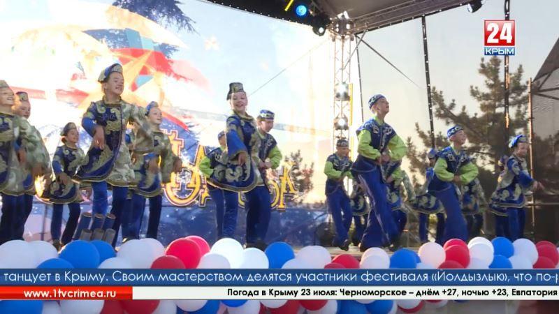 Созвездие-Йолдызлык - 2018»: в Бахчисарае выступили лучшие участники самого масштабного творческого фестиваля Татарстана
