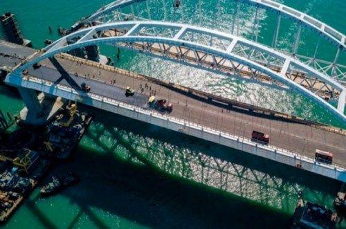 Субподрядчик допустил ошибку в проекте Крымского моста
