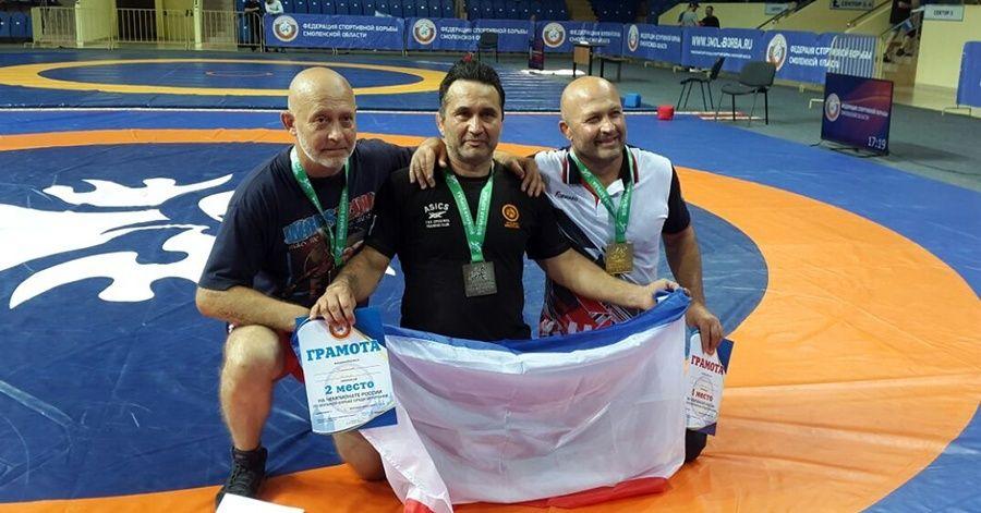 Симферополец Энвер Федосов – серебряный призер чемпионата России по вольной борьбе среди ветеранов!