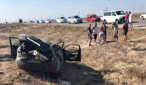 Послесловие к ДТП на трассе «Симферополь-Евпатория»: комментарий водителя Мазды-«перевёртыша»
