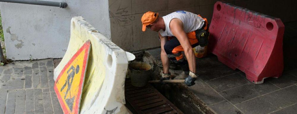 Коммунальные службы Ялты привели в порядок ливневую канализацию возле реки Быстрая