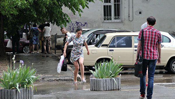 Во вторник в Крыму пройдут кратковременные дожди
