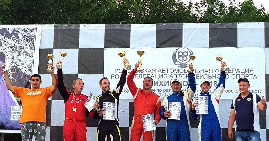Экипаж из Ялты завоевал две медали на ралли в Ростовской области