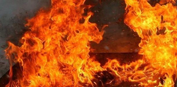 В Гаспре горел четырехэтажный дом