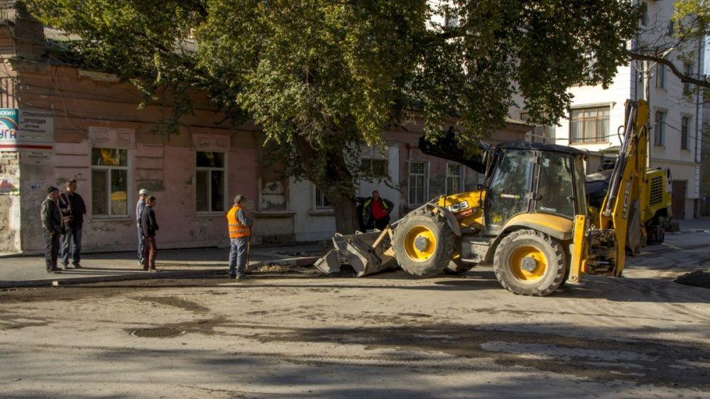 В Феодосии отремонтируют более 3000 г.кв дорожного покрытия