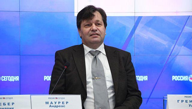 Маурер рассказал об инвестпроектах немецкого бизнеса в Крыму