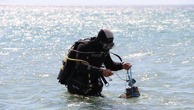 Эхо войны: в Сакском районе спасатели подорвали 250-килограмовую мину