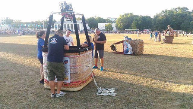 Парад аэростатов: в Белогорске стартовал фестиваль воздушных шаров