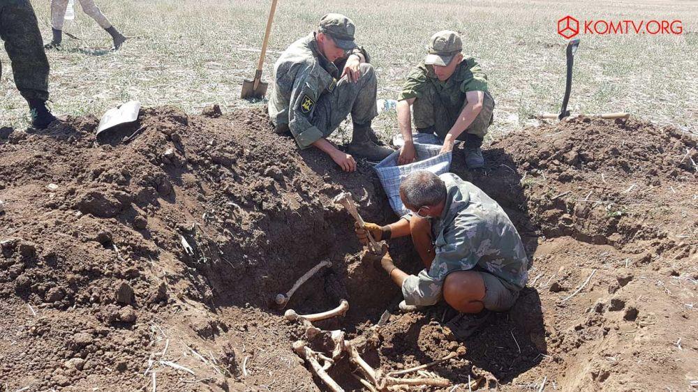 В Ленинском районе провели «Вахту памяти» по поиску неопознанных солдат ВОВ - Крымские новости