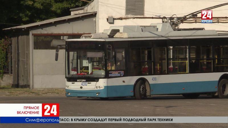 В чём необходимость повышения тарифа на проезд в крымских троллейбусах? Прямое включение корреспондента «Крым 24» Екатерина Серюгиной