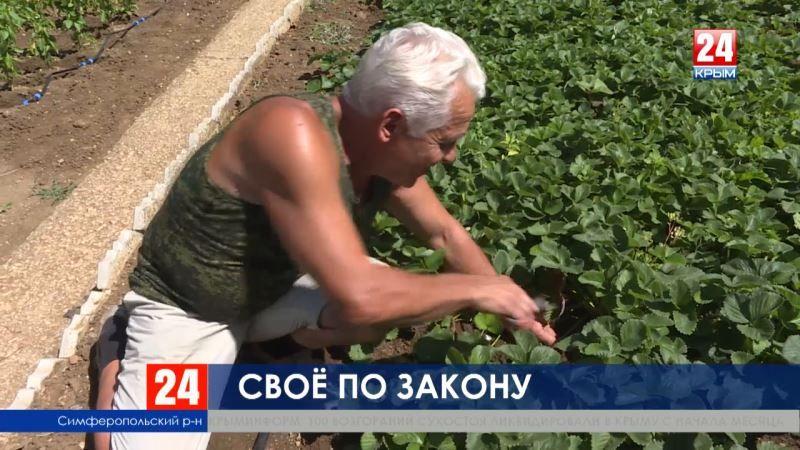 В Крыму продлили особенности земельных отношений