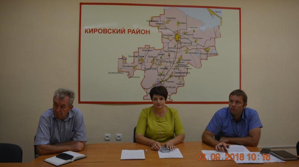 Елена Янчукова провела рабочее заседание координационного районного штаба