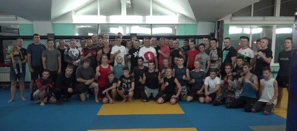 Известнейший в мире бокса спортсмен провёл мастер-класс для севастопольцев!