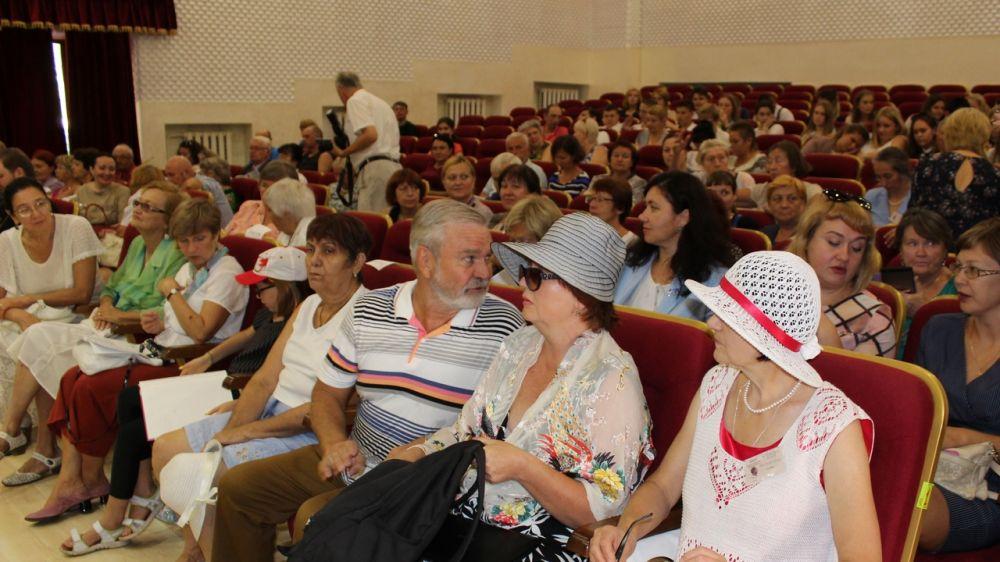 В Алуште проходят Крымские международные Шмелевские чтения