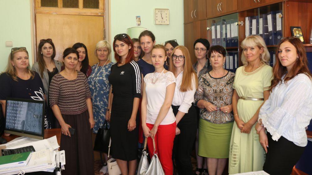 Магистры отделения культурологии Крымского федерального университета ознакомились с деятельностью Министерства культуры Крыма