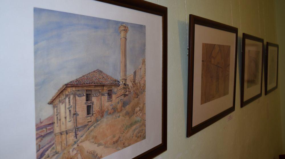 Выставка акварели Константина Богаевского открылась в Бахчисарайском музее-заповеднике