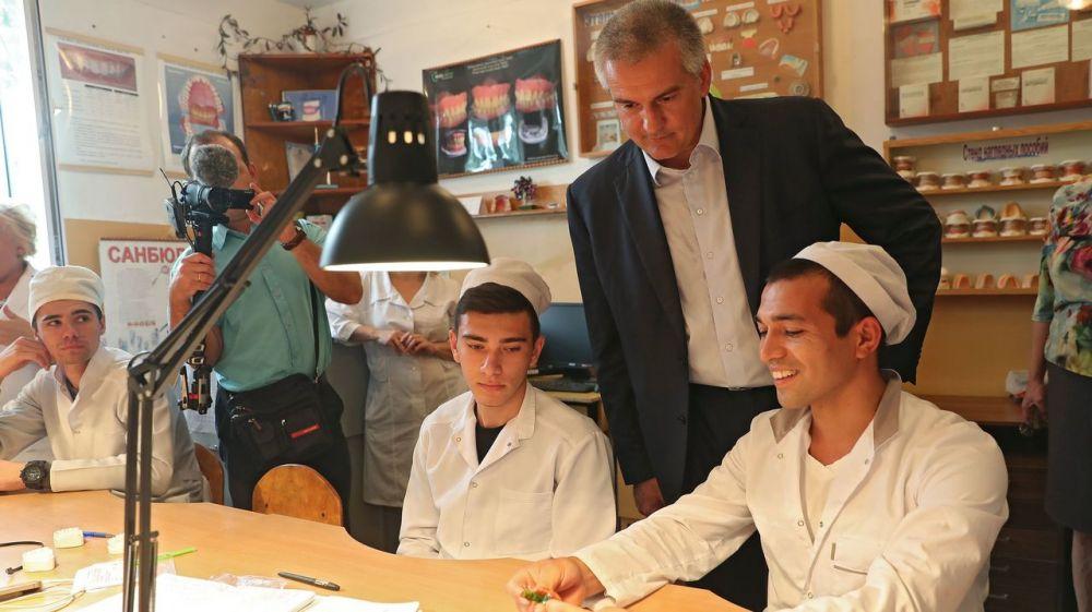 Стипендия крымских студентов учебных заведений среднего профессионального образования будет составлять 1,5 тыс. рублей в месяц – Сергей Аксёнов
