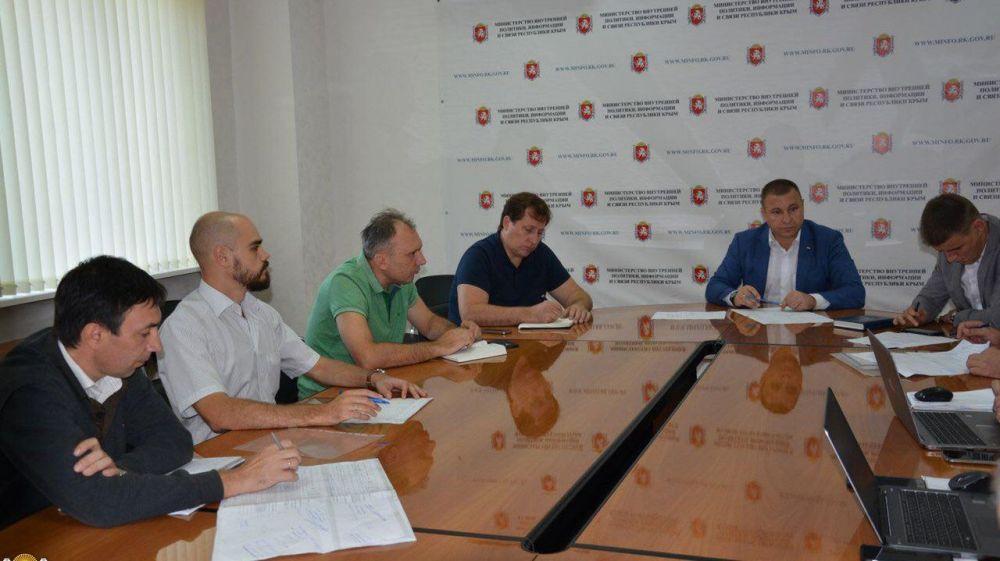 В Мининформе РК состоялось рабочее совещание по вопросам подключения объектов телерадиовещания и мобильной связи к электрическим сетям республики