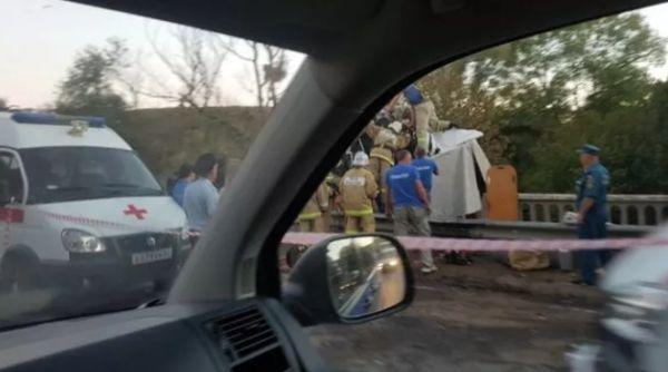 ДТП в Крыму: грузовик врезался в фуру