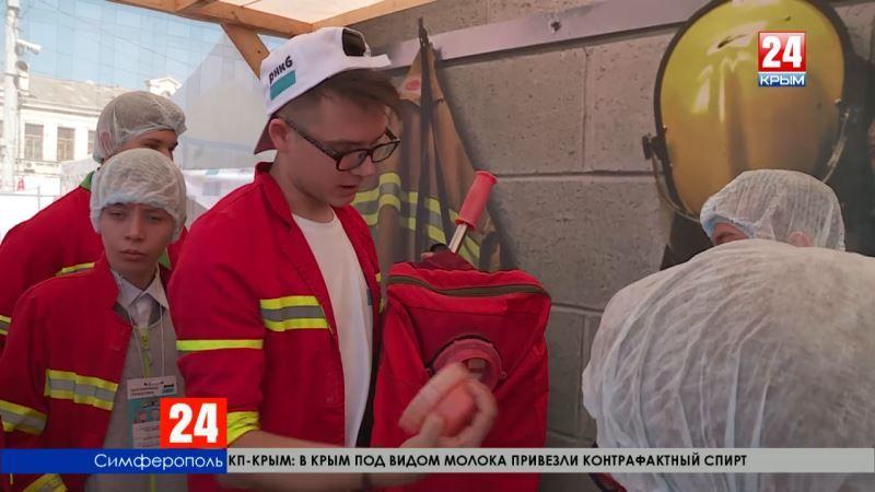 В Симферополе стартовал уникальный образовательный проект для детей «Азбука профессий»