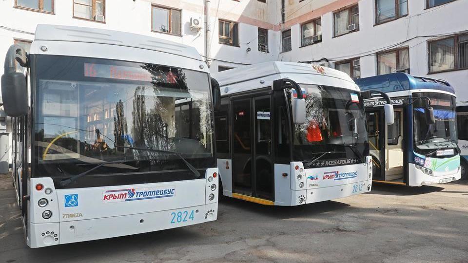 За восемь месяцев текущего года «Крымтроллейбус» перевез почти 30 миллионов пассажиров
