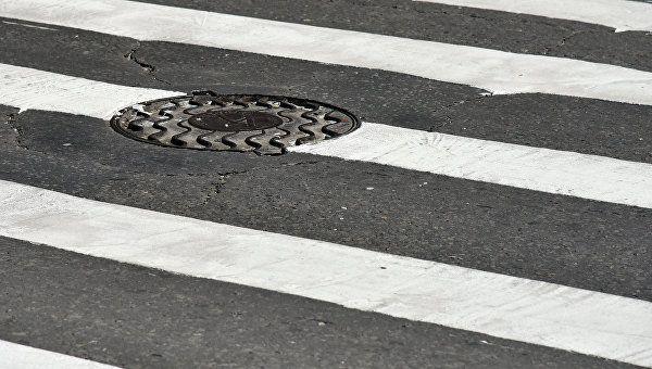 "В Севастополе на ""зебре"" иномарка сбила 11-летнего ребенка"