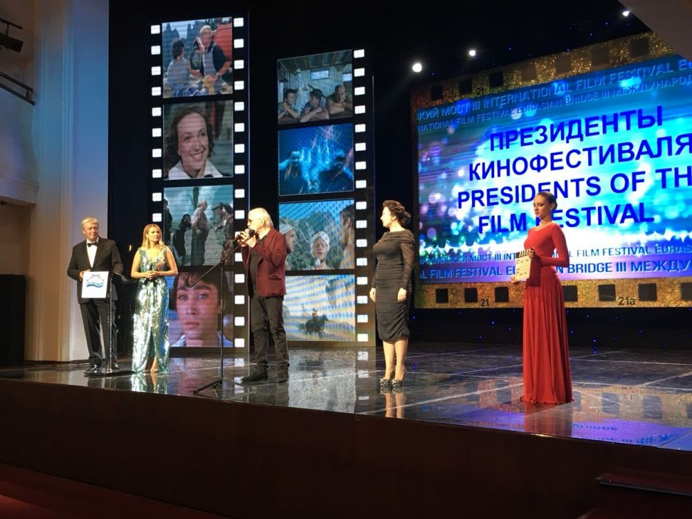 Арина Новосельская и Виктор Мережко открыли III Ялтинский Международный кинофестиваль «Евразийский мост»