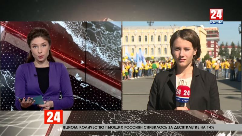 Как сотрудничают Ставропольский край и Крым: прямое включение специального корреспондента телеканала «Крым 24» Елены Носковой