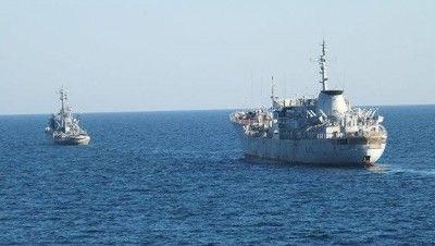 Корабли ВМСУ прошли у берегов Крыма